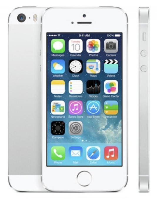 Apple iPhone 5s 16GB Argento (Ricondizionato Grado A)