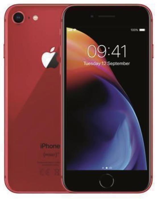 Apple IPhone 8 64GB Rosso (Ricondizionato Economy)