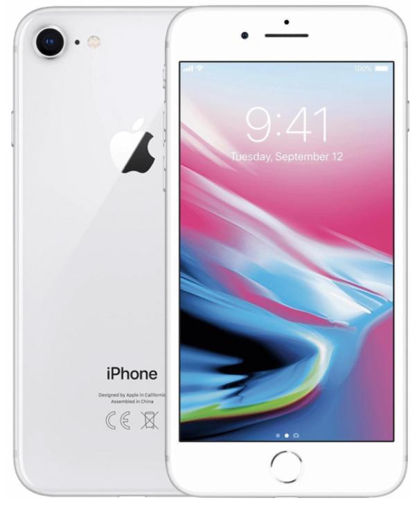 Apple IPhone 8 Plus 64GB Silver (Ricondizionato Premium)