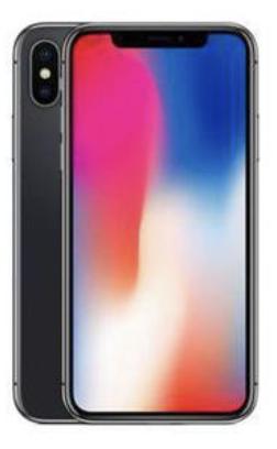 Apple iPhone X 64 GB Grigio Siderale (Rigenerato Gold)