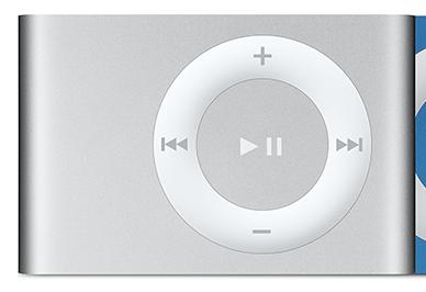 Apple iPod shuffle 1GB Argento